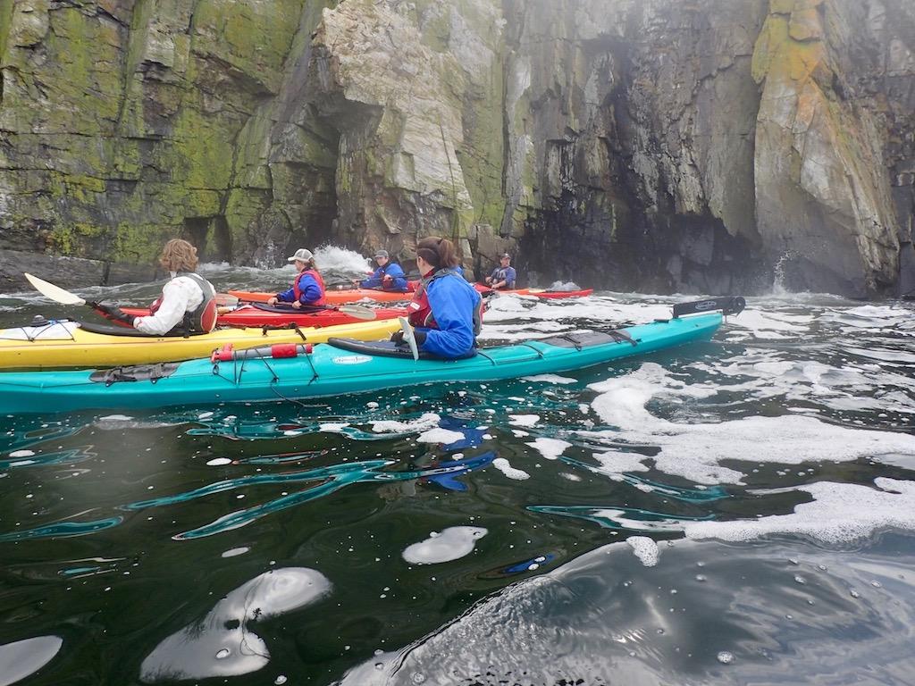 Paddling Whitehead Passage