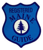 Registered Maine Sea Kayak Guide badge