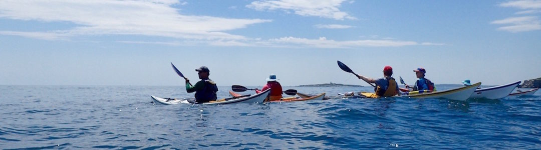 Paddling out on Fastrack Intensive