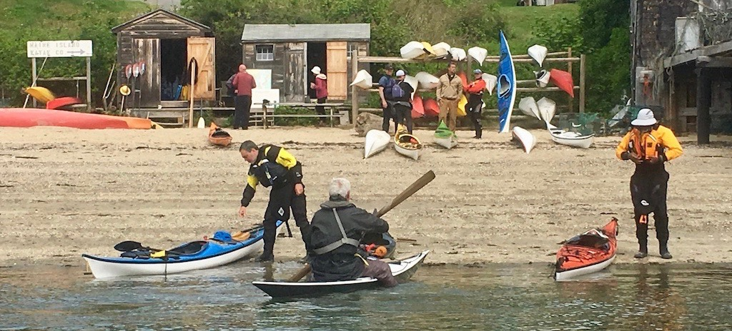 NDK and Tiderace Demo Day on Peaks Island