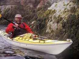 John Huth sea kayaking