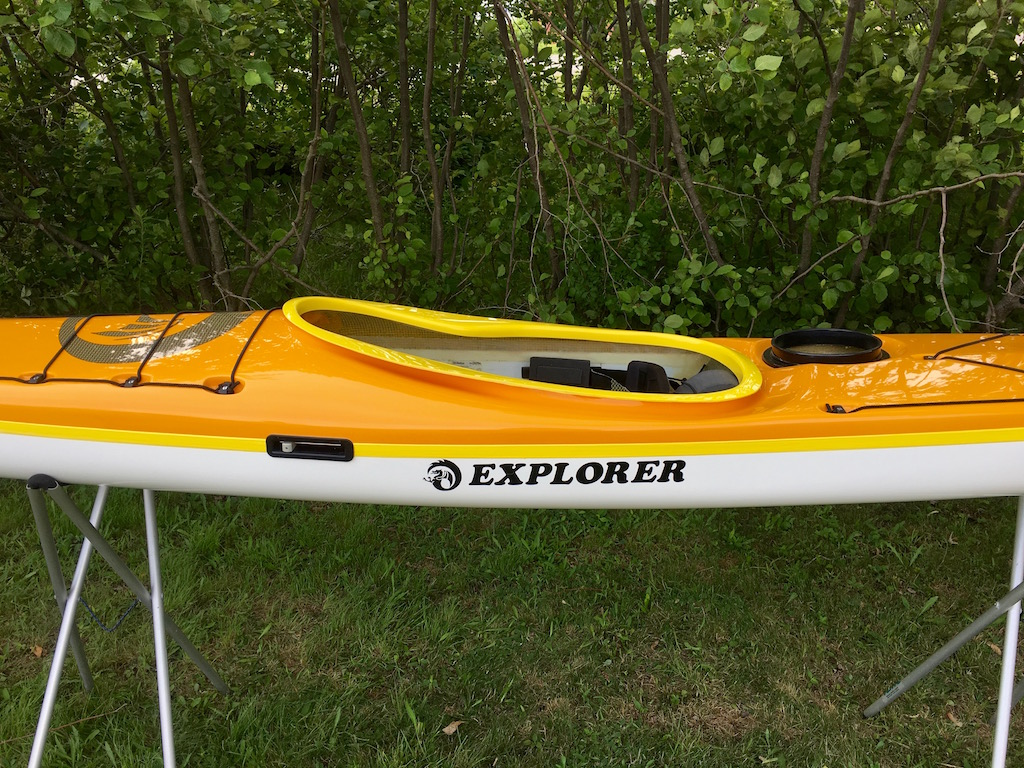 Explorer 50:50 sun yellow:wh yellow close side