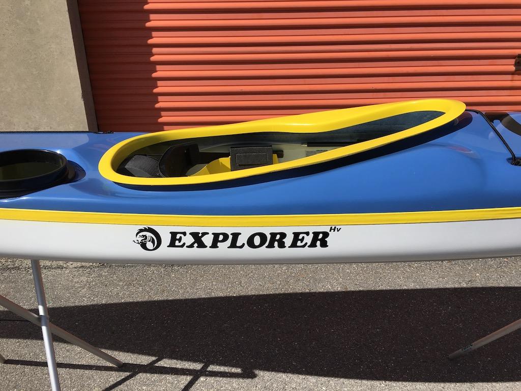 NDK Explorer HV wit rear oval hatch