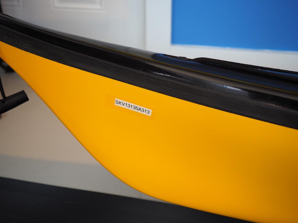 NDK Explorer rear oval hatch