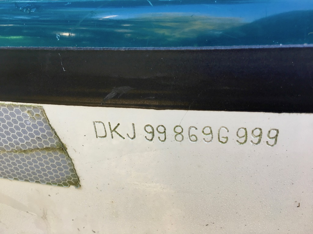 NDK Explorer serial number