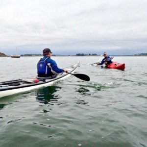 Accessing a Kayak's Secondary Stability