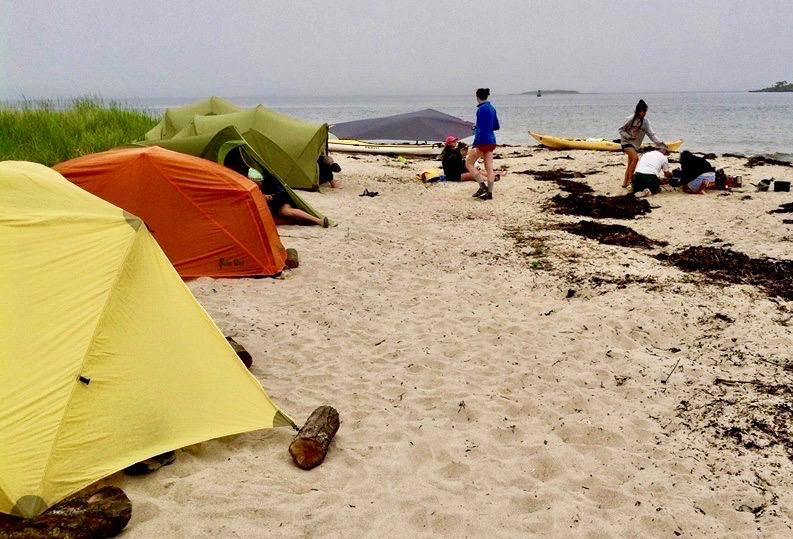 Island Camping