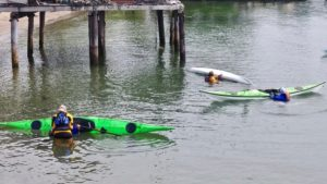 Sea Kayak Rescue Practice