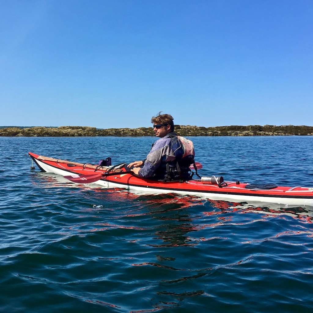 Joe Guglielmetti, registered Maine Sea Kayaking Guide